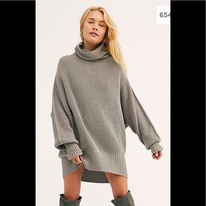 Free people cocoa sweater. NWT. Still 148 in store